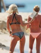 Sarah Harding bikini cameltoe on the Beach