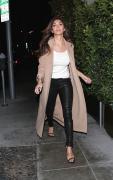 Nicole Scherzinger E Baldi Restaurant in Beverly Hills 13/01/2016