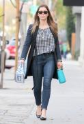 Jessica Biel Out and about in Los Angeles 1/16/16
