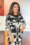 Salma Hayek The Prophet photocall in Mexico City 1/16/16