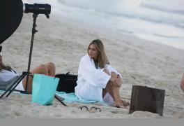 Abbey Clancy Swimwear photoshoot in Dubai, Jan 2016