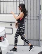Selena Gomez leaving the gym in LA 1/18/16