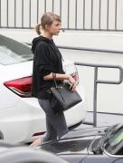 Taylor Swift leaving the gym in LA 1/18/16