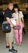 Bai Ling at Los Angeles International Airport 1/18/16