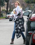 Diane Kruger spotted multitasking in West Hollywood 1/19/16