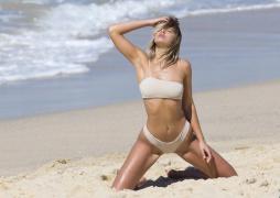 Kristina Mendonca - in barely-there bikinis on Bondi Beach 9/5/17 Part 1