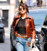 Selena Gomez leaves little to the imagination while out in NYC 9/12/17